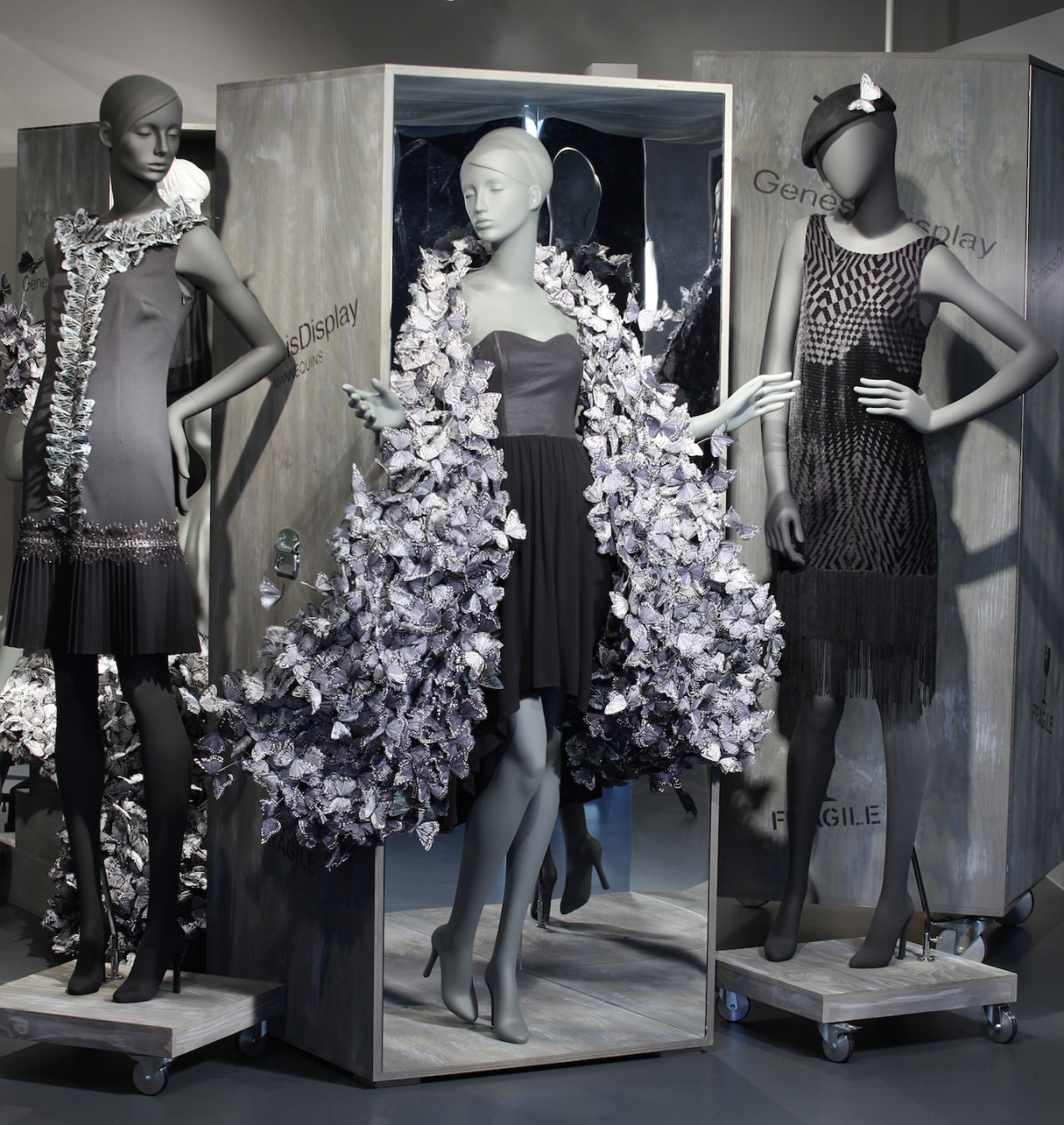 Rabe Moden, Butterfly Couture,  Showroom 2013 by Sayonara Visual Concepts