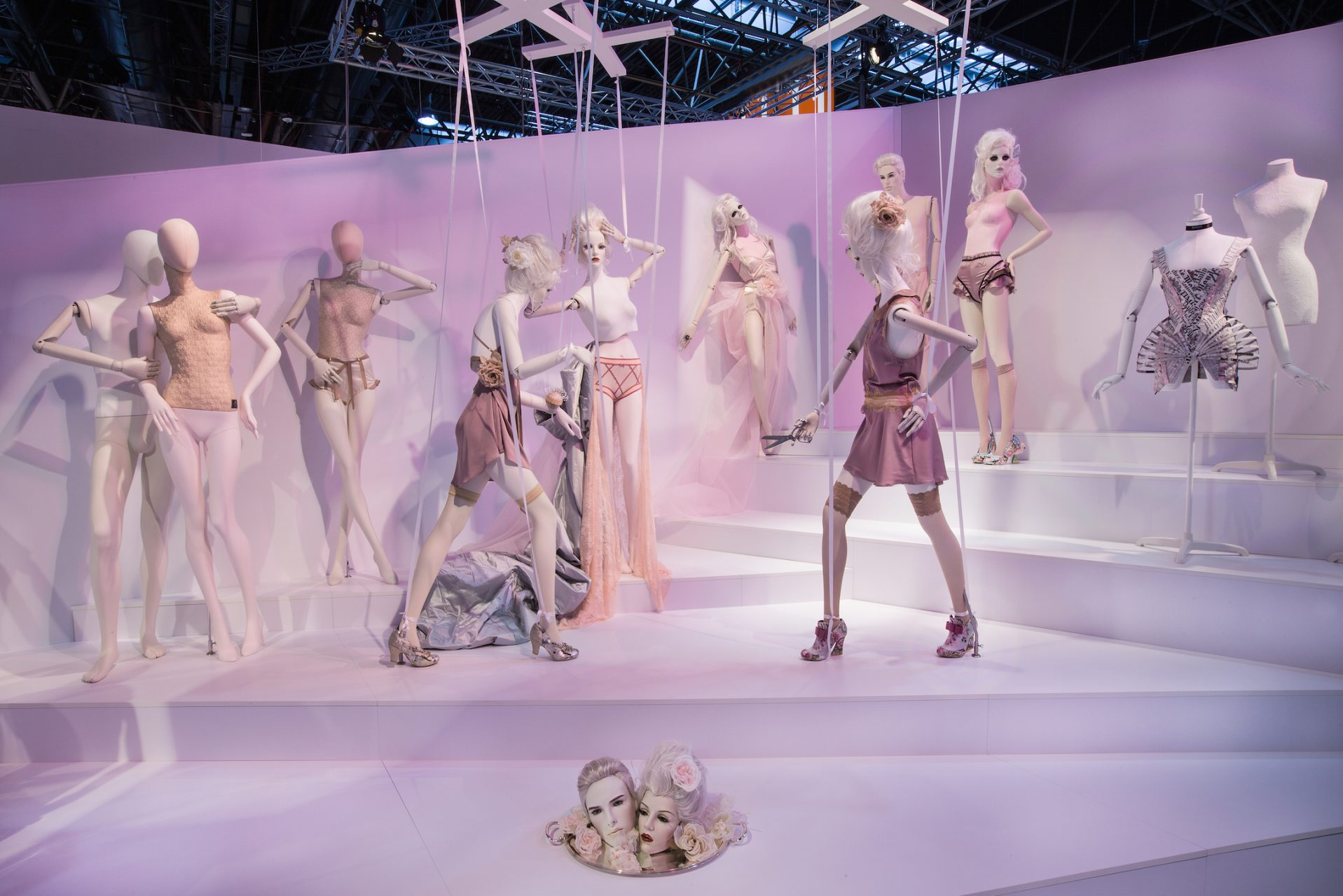 Genesis Display Euroshop 2017 Fair Booth by Sayonara Visual Concepts